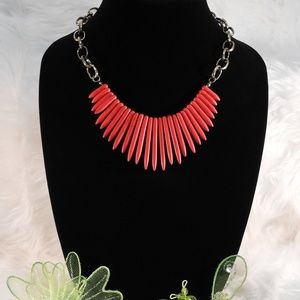 Jewelry - Coral Red Necklace